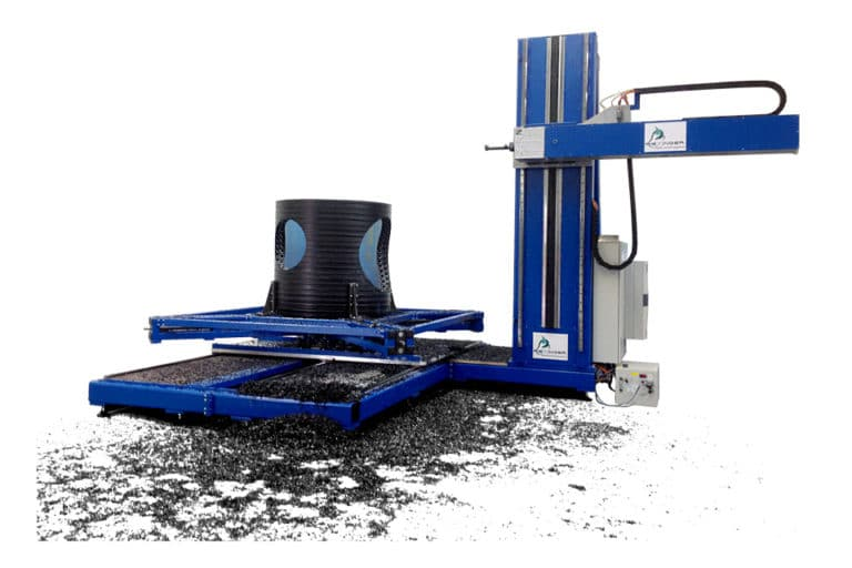 Software and commissioning of the SBM milling machine