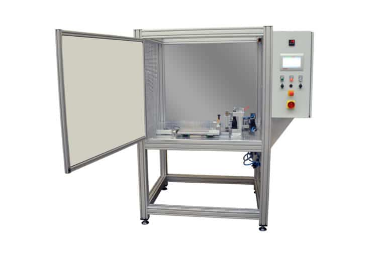 Software and commissioning of the machine for contact welding of plastic parts