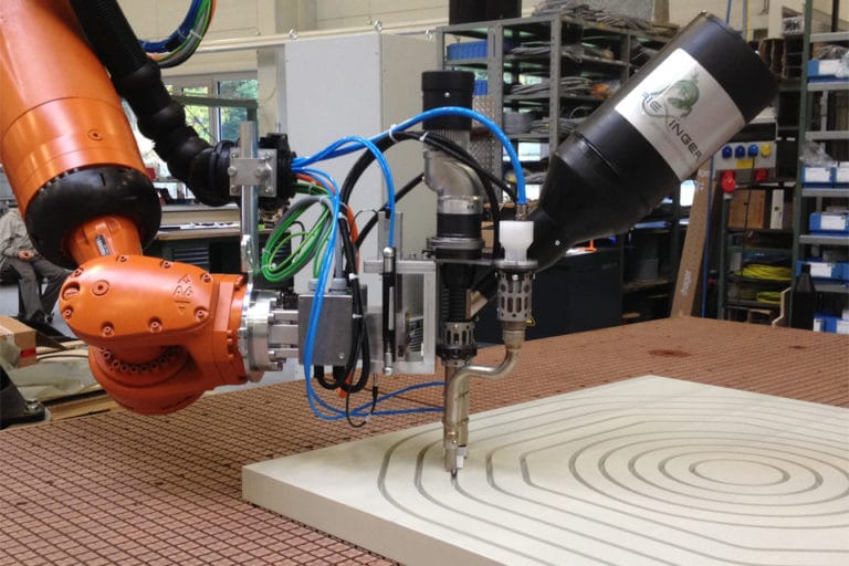 Comprehensive automation of the extruding process in the production of filtration membranes