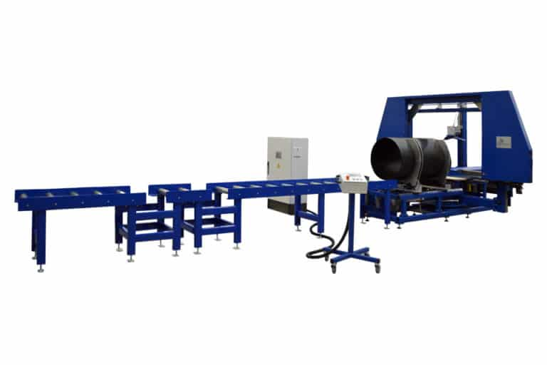 Software and commissioning of the BSM machine for automatic pipe segment cutting