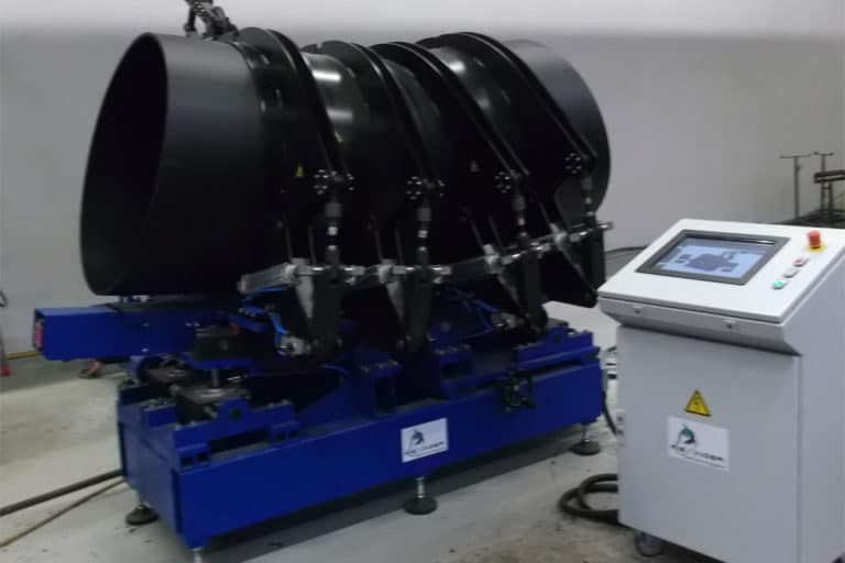 Software and start-up of RBSM machine for contact welding of pipe segments